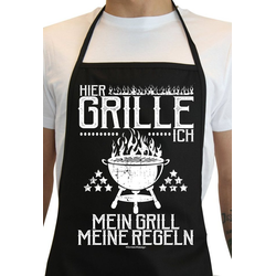 Soreso® Grillschürze Hier Grille ich - Mein Grill - Meine Regeln, (2-tlg), Made in Deutschland!