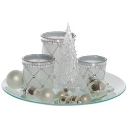 Teelichthalter Solares (Set, 5 Stück)