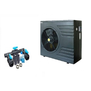 well2wellness ON/Off Pool Wärmepumpe Mida Black 11 - Poolheizung mit Heizkapazität bis 10,7 kW