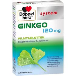 Doppelherz Ginkgo 120 mg system