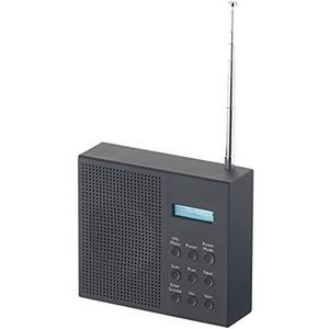 VR-Radio Outdoor Radio DAB+: Digitales DAB+/FM-Radio mit Akku, Dual-Wecker, RDS, LCD-Display, Timer (tragbares Radio)