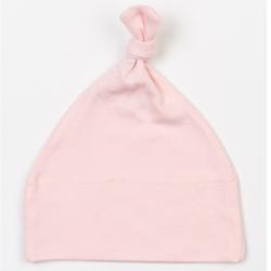 Baby One Knot Hat | Babybugz powder pink