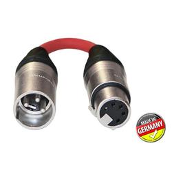 DMX Adapter 3-pol XLR male / 5-pol XLR female