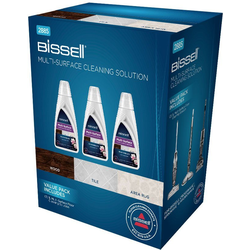 Bissell Multi Surface 3er Set Fussbodenreiniger (Set, 3-tlg)