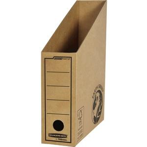 Bankers Box Earth Series extra stabiler Stehsammler (aus Wellpappe, B7.70 x H31.40 x T26 cm) 10 Stück