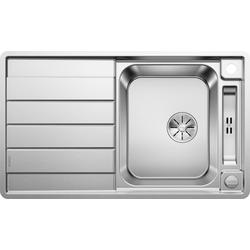 Blanco Küchenspüle AXIS III 45 S-IF, rechteckig