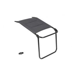 Fußauflage für Camping Luxusstuhl Parma 3d grau