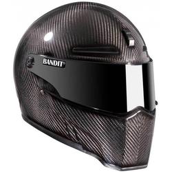 Bandit Alien II Carbon Motorradhelm, carbon, Größe M