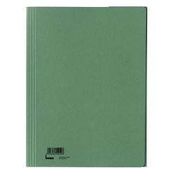 5 bene Sammelmappen   DIN A4   grün