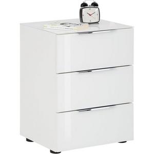 Maja Möbel Nachtkommode TREND 7802, Höhe 60,30 cm weiß