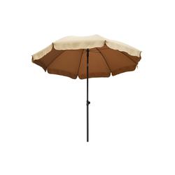 Ribelli Sonnenschirm, Sonnenschirm, taupe, 240 cm braun