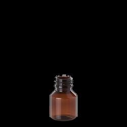 50 ml Pharma Veral - braun - PP 28 Gewinde