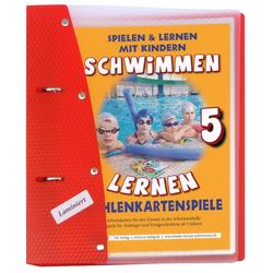 Schwimmen lernen 05. Zahlenkartenspiele laminiert