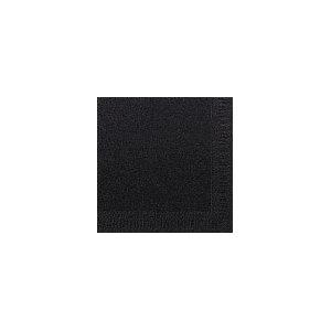 Duni Zelltuch-Servietten schwarz 33x33cm 3-lagig 1/4-Falz 4x250 Stück