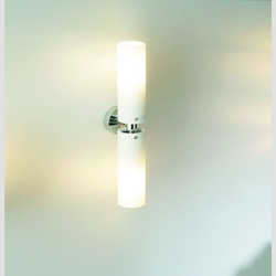 Tube Twin PL Leuchtstoffllampe mit Stecksockel, chrom