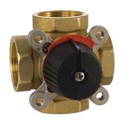 4-Wege-Messing-Mischer LK 841 ThermoMix für Heizung - DN15 - 4 x 1/2'' IG - Kvs-Wert 2,5
