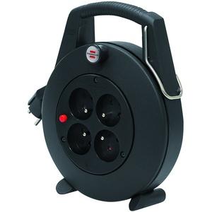 Brennenstuhl confort-line cl-l ENROULEUR ÉLECTRIQUE 5 m H05VV-F 3 G1,0, schwarz, 1102501