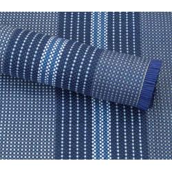 Zelt-Teppich Briolite uni blau 250 x 350 cm