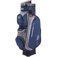 Wilson Staff Golftasche, I LOCK III Cart Bag, Trolleytasche, Für bis zu 9 Eisen, Schwarz/Grau/Weiß, 3,2 kg, WGB4330NA