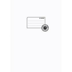 Heftschoner Papier A4 weiß
