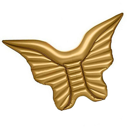 Ocean 5 Badeinsel Schwimminsel Flügel gold