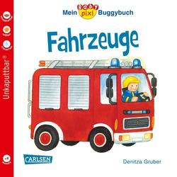 Carlsen Verlag Baby Pixi 43: Mein Baby-Pixi Buggybuch: Fahrzeuge 105145