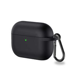 CoverKingz Etui Hülle für Apple AirPods 3 / AirPods Pro Silikon Bumper Case Cover Etui Schwarz Apple AirPods Pro / AirPods 3 schwarz