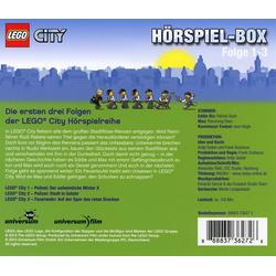 LEGO® Hörspiel CD LEGO City Hörspielbox 1-3