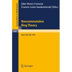 Noncommutative Ring Theory als Buch von