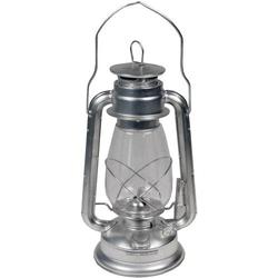 MFH Sturmlaterne Zink Petroleumlampe Silber 1St.