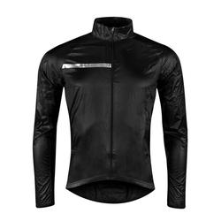 FORCE Fahrradjacke Jacke Windpro winddicht, schwarz XS