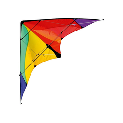 Elliot Flug-Drache Drachen Delta Basic blau bunt