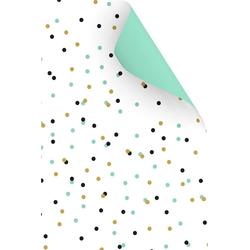 VBS Motivpapier Punkte Mint, 50 cm x 70 cm