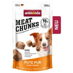 (31,85 EUR/kg) Animonda Meat Chunks Pute pur 60 g - 8 Stück