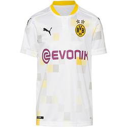 Trikot Borussia Dortmund 20-21 3rd Trikots Kinder weiß Gr. 152  Kinder