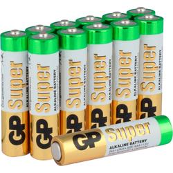 GP Batteries Super Alkaline AAA Batterie, LR03 (1,5 V, 40 St)