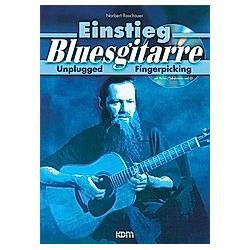 Einstieg Bluesgitarre  m. Audio-CD. Norbert Roschauer  - Buch