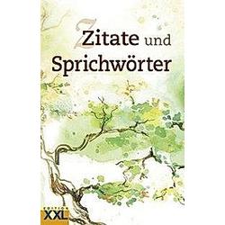 Zitate und Sprichwörter - Buch