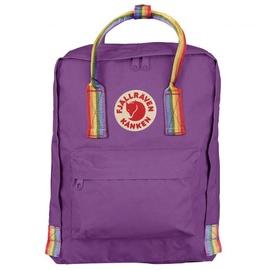 Mini purple/rainbow pattern