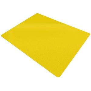 Floordirekt Bodenschutzmatte Economy, für Teppichböden gelb
