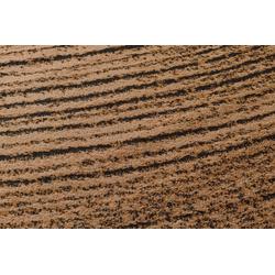Teppich Baumscheiben Optik braun ca. 190/280 cm