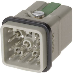 Harting 09 12 012 3001-1 Stifteinsatz Han® Q 12 + PE Han-Quick Lock® 1St.