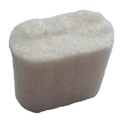 Filzstopfen oval für Dichtstoff Klebstoff Primerauftragskopf oval