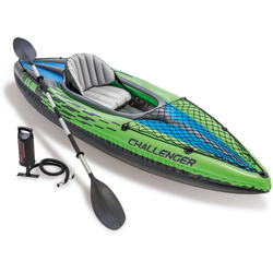 Intex Einerkajak Challenger K1 Kayak Set, (Set, 3)