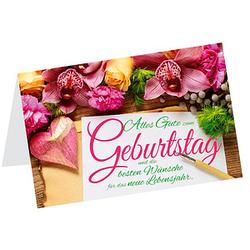 LUMA Geburtstagskarte Orchidee DIN B6