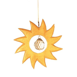 Sonne natur 12 cm Kristall