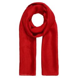 er piu Schal aus feiner Seide rot