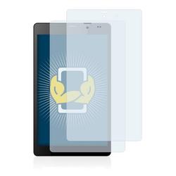 BROTECT Schutzfolie für Mediacom SmartPad 8.0 HD iPro800 3G M-IPRO800B, (2 Stück), Folie Schutzfolie klar