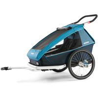 Croozer Kid Plus für 2 ocean blue 2019