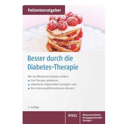 Besser durch die Diabetes-Therapie: Buch von Uwe Gröber/ Klaus Kisters
